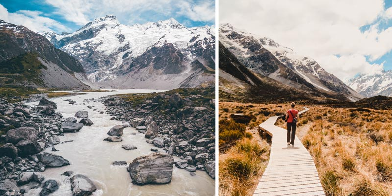Neuseeland Südinsel Highlights Mount Cook