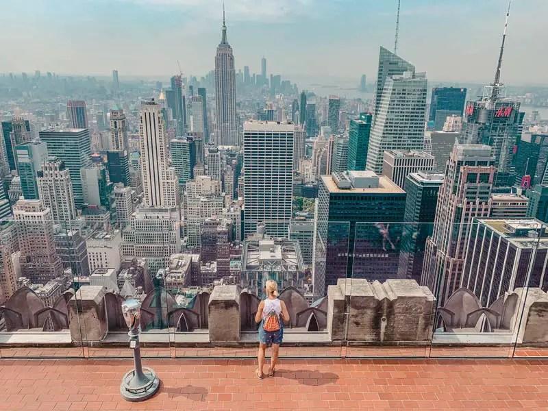 Top of the Rock – New York Sehenswürdigkeiten