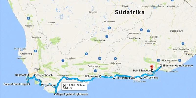 Südafrika Karte Sehenswürdigkeiten.Südafrika Rundreise Routen 9 Südafrika Routen Tipps Und Highlights
