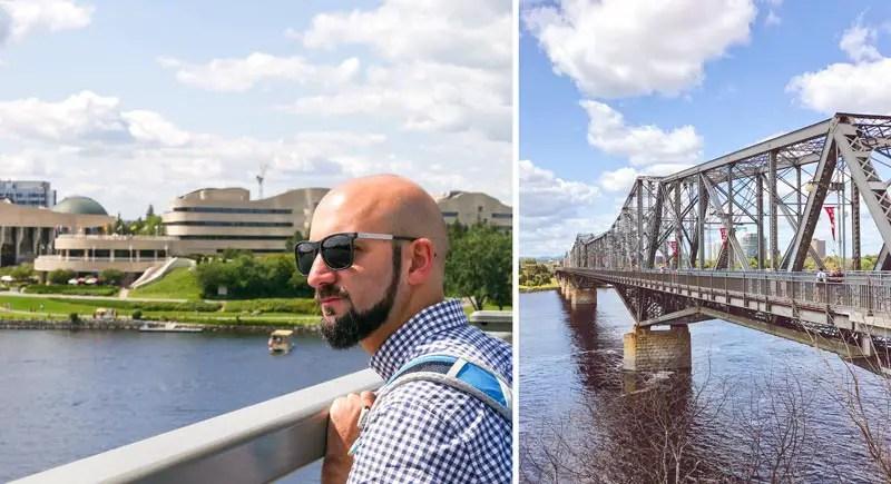 Alexandra Bridge Ottawa Sehenswürdigkeiten