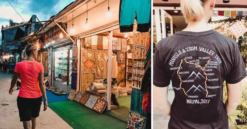 Pokhara Sehenswürdigkeiten Shopping