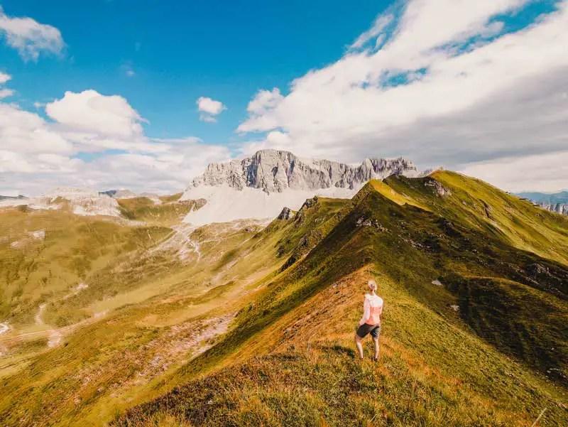 Prättigauer Höhenweg Panorama
