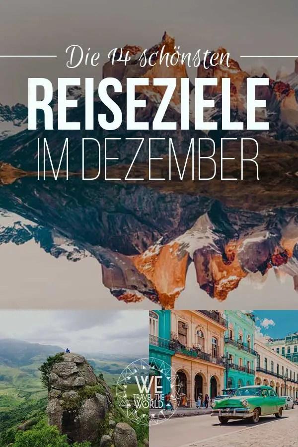 Reiseziele Dezember: Die 14 besten Reiseziele im Dezember 2018 – für Abenteuer & Outdoor Fans #reiseziele #reisetipps #reiseinspiration