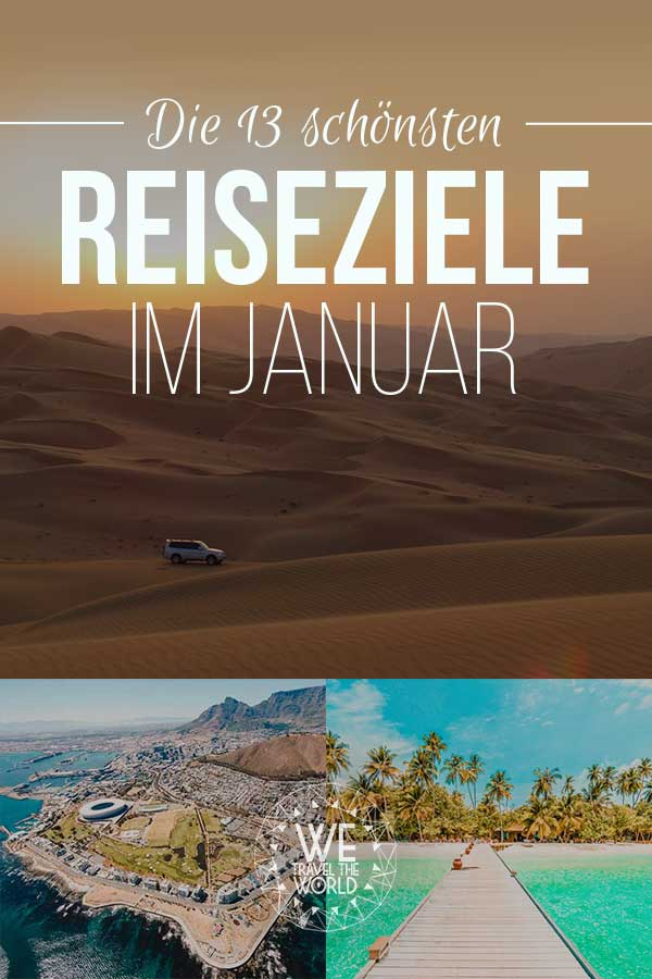 Reiseziele Januar: Die 13 besten Reiseziele im Januar – für Abenteuer & Outdoor Fans #reiseziele #reisetipps #reiseinspiration