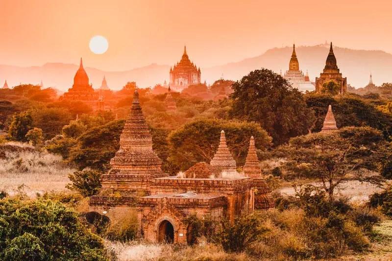 Reiseziele im Februar Myanmar