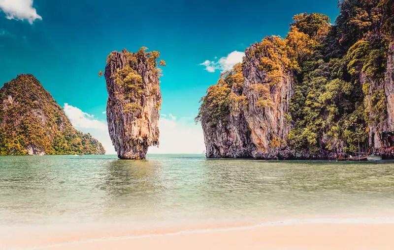 Reiseziele im Februar Thailand