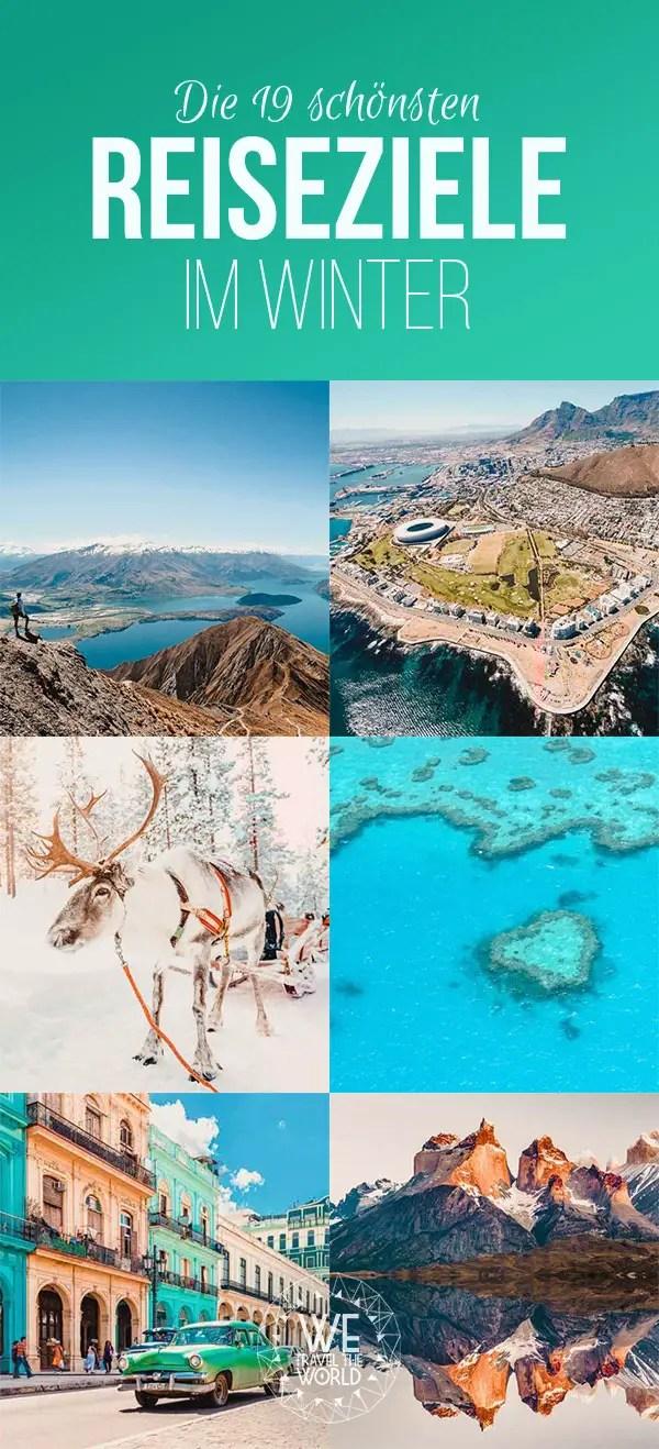 Die schönsten Reiseziele im Winter #reisetipps #winterurlaub #reiseinspiration