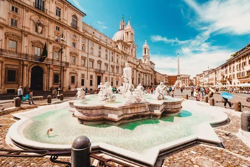 Rom Sehenswürdigkeiten Piazza Navona