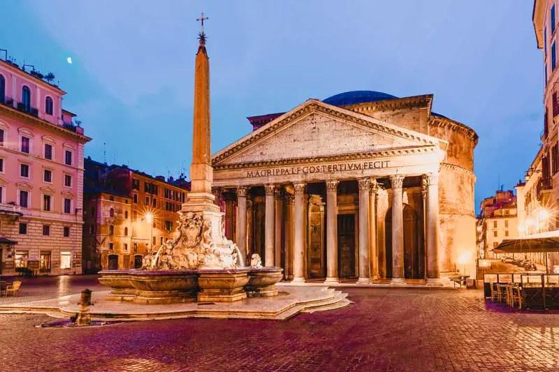 Rom Sehenswürdigkeiten Pantheon