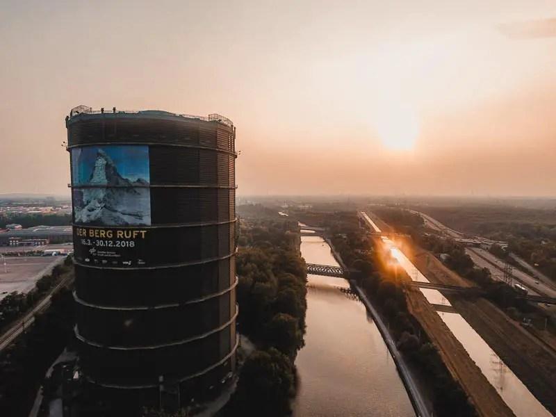 Ruhrgebiet Sehenswürdigkeiten Gasometer Oberhausen