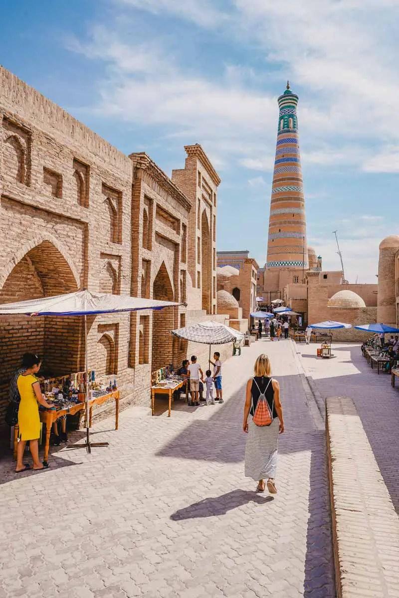 Xiva - Khiva - Khiva - Oezbekistan toeristische attracties