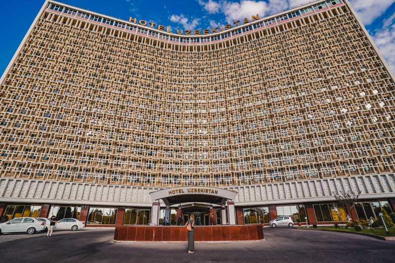 Tashkent Hotel Uzbekistan - Oezbekistan Rondreis - Attracties in Oezbekistan