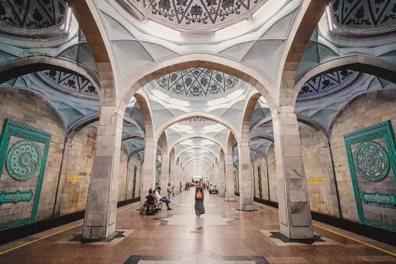 Taschkent Metro – Usbekistan Rundreise – Usbekistan Sehenswürdigkeiten