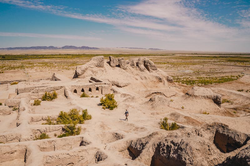 Toprak Kala – Usbekistan Rundreise – Usbekistan Sehenswürdigkeiten