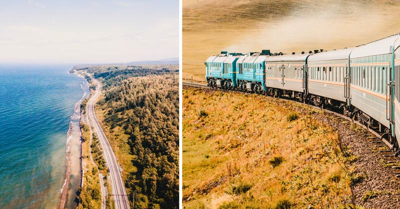 Russland Sehenswürdigkeiten, Highlights und Reisetipps Transsibirische Eisenbahn