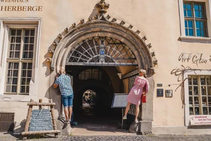 Sachsen Sehenswürdigkeiten Görlitz Flüsterbogen