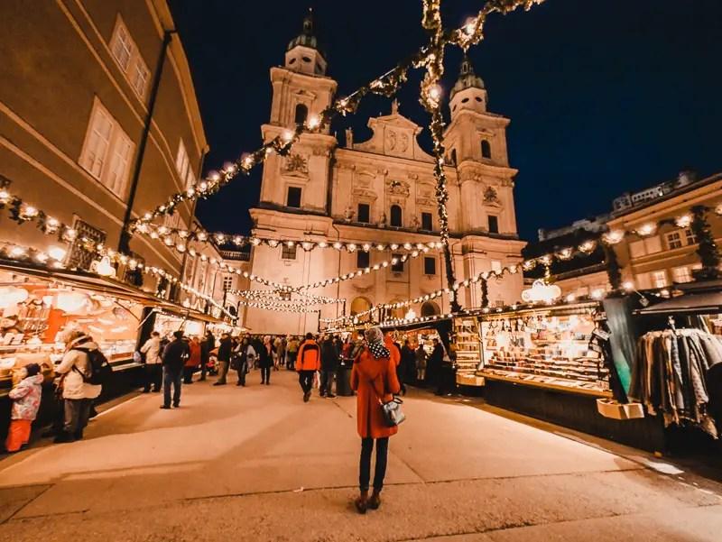 Dom – Salzburg Sehenswürdigkeiten im Winter
