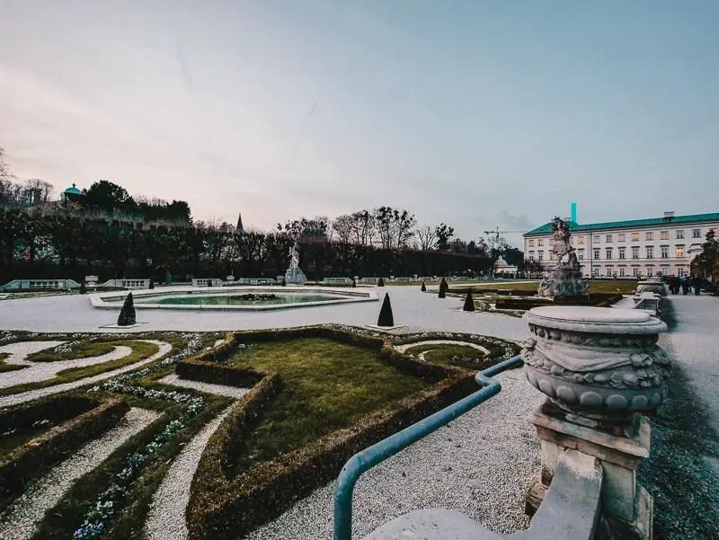 Schloss Mirabell – Salzburg Sehenswürdigkeiten im Winter