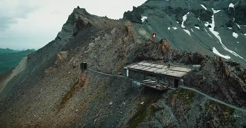 Schweiz Drohnenvideo Segnespass Mountain Lodge