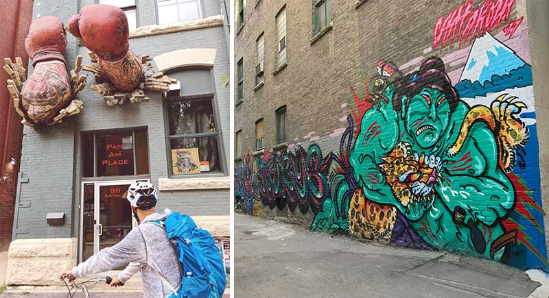 Streetart in Winnipeg