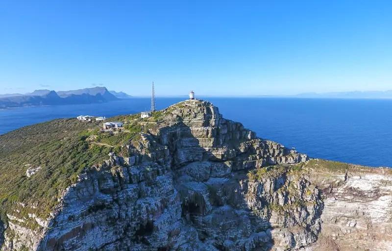 kap halbinsel drone cape peninsula