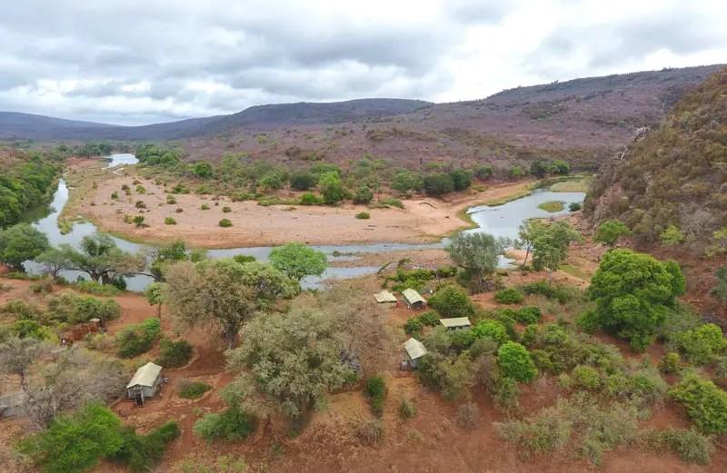 nyalaland trail kruger drone