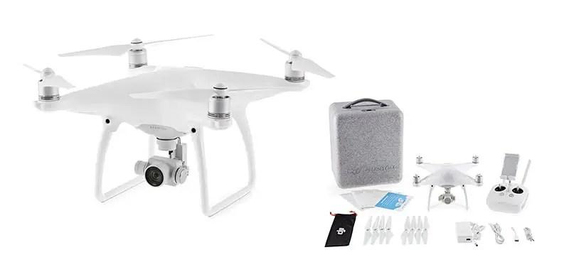 Technik Packliste – Drohne DJI Phantom 4