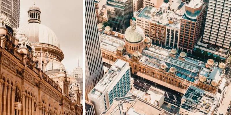 Sydney Sehenswürdigkeit Queen Victoria Building