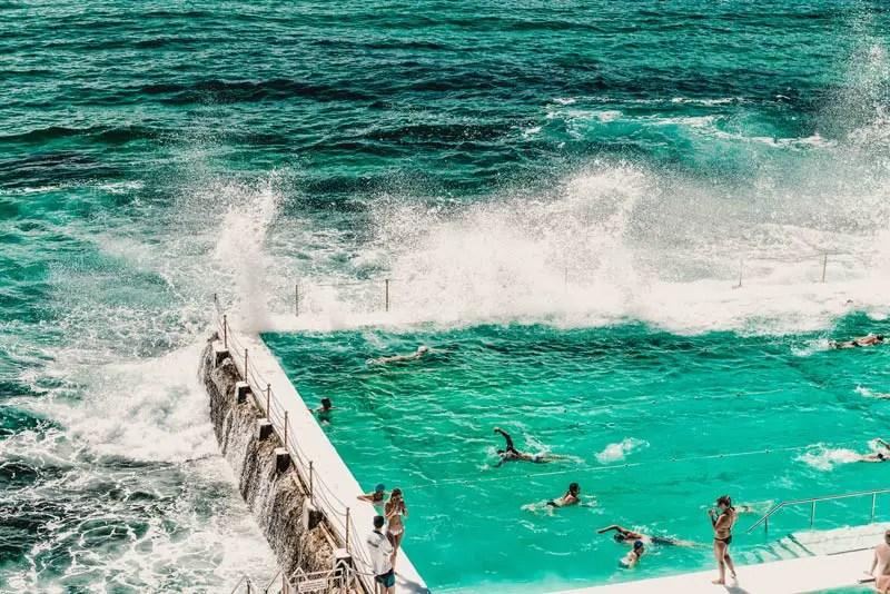 Sydney in 7 Tagen - Bondi Icebergs