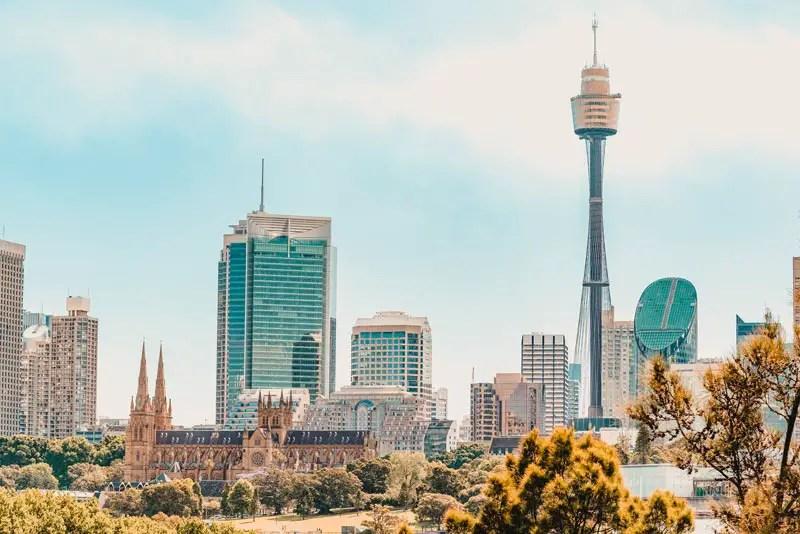Sydney Sehenswürdigkeiten Tower