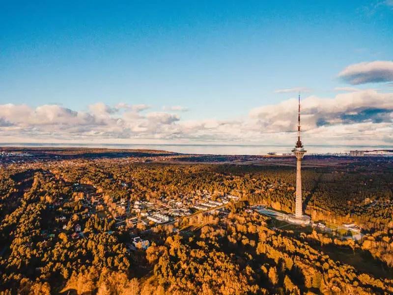 Tallinn Sehenswürdigkeiten Fernsehturm
