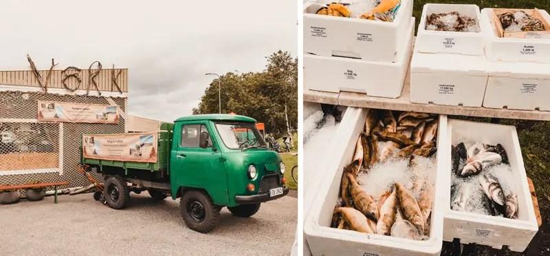 Tallinn Sehenswürdigkeiten Fischmarkt