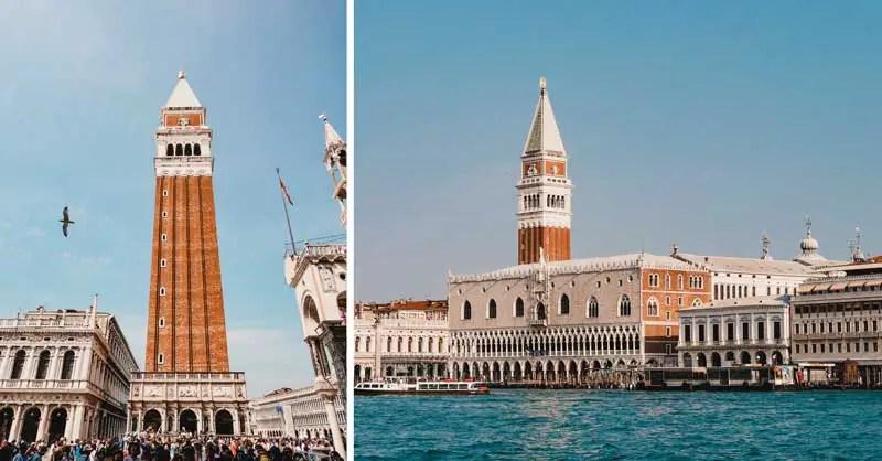 Venedig Sehenswürdigkeiten Campanille di San Marco