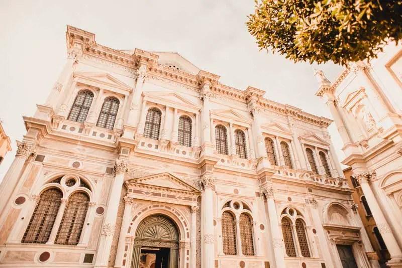 Venedig Sehenswürdigkeiten Scuola Grande di San Rocco