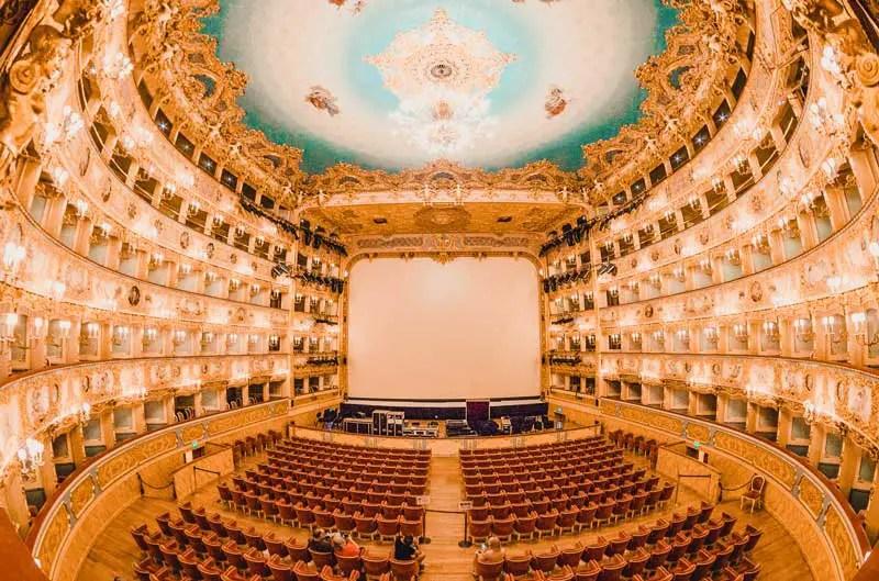 Venedig Sehenswürdigkeiten Teatro La Fenice