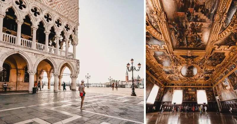 Venedig Sehenswürdigkeiten Dogenpalast