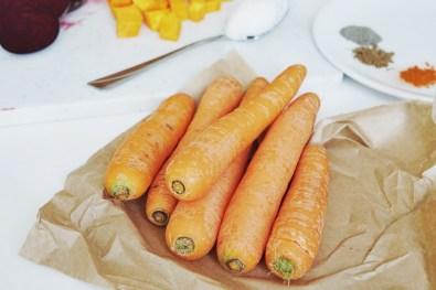 mehrere Karotten