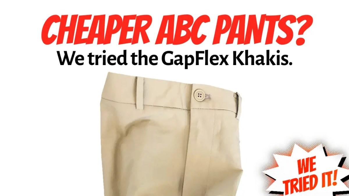 GapFit Khakis Review