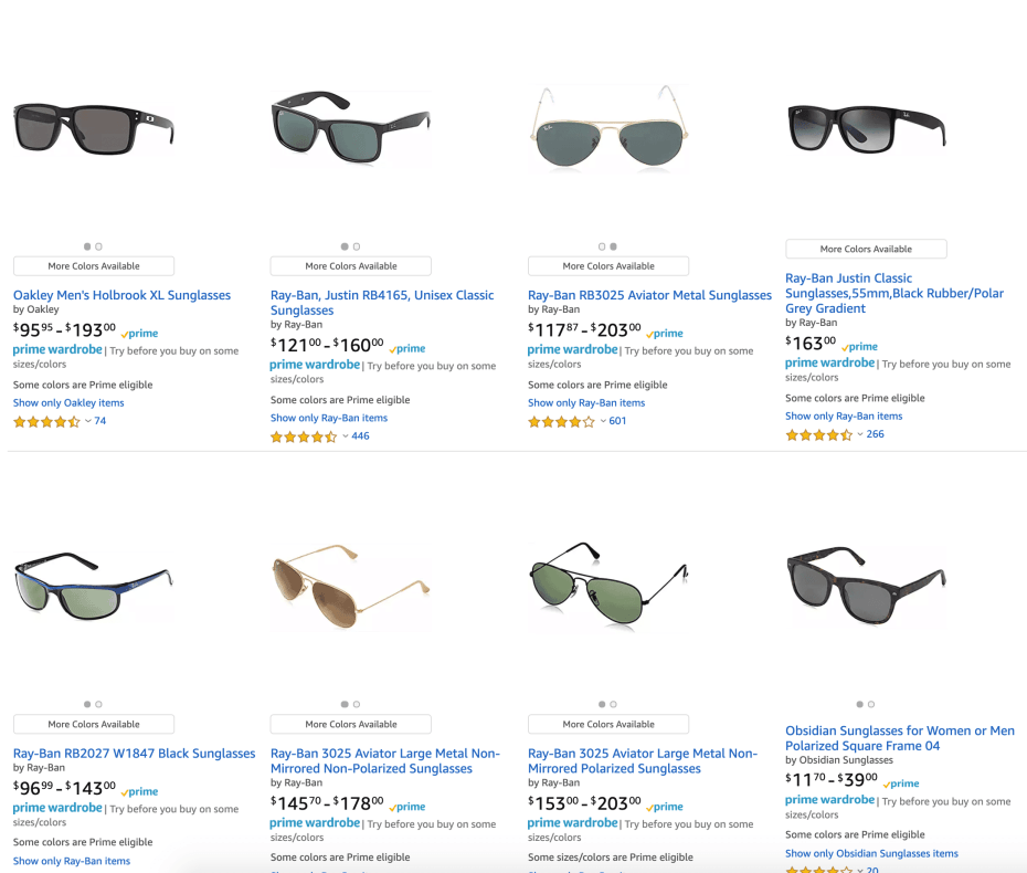 Amazon Prime Wardrobe Review and FAQS sunglasses-1024x870