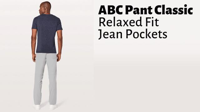ABC Pant Review abc-pant-classic-features