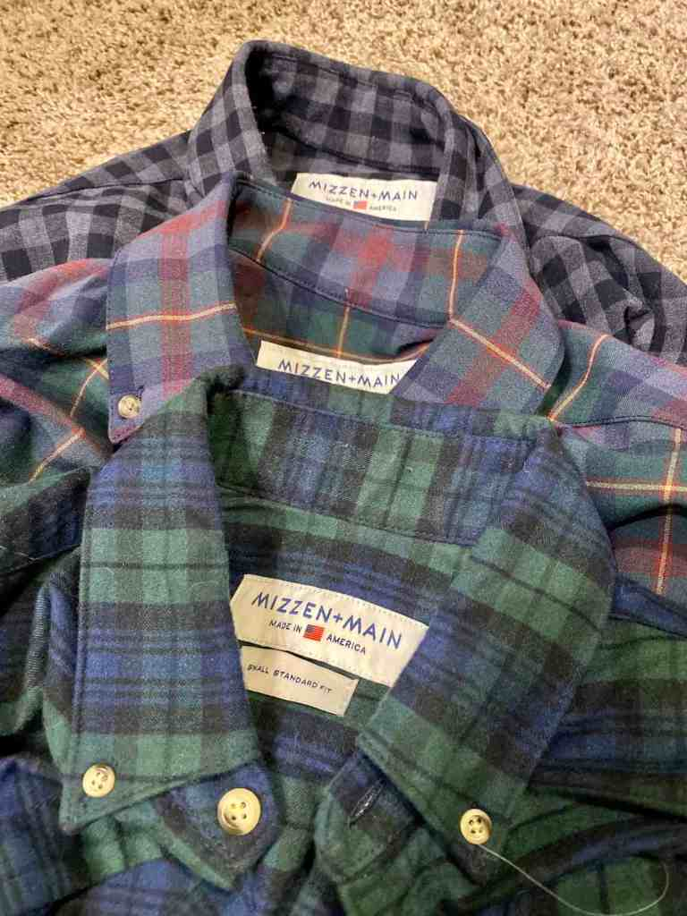 Mizzen + Main Flannel review 2