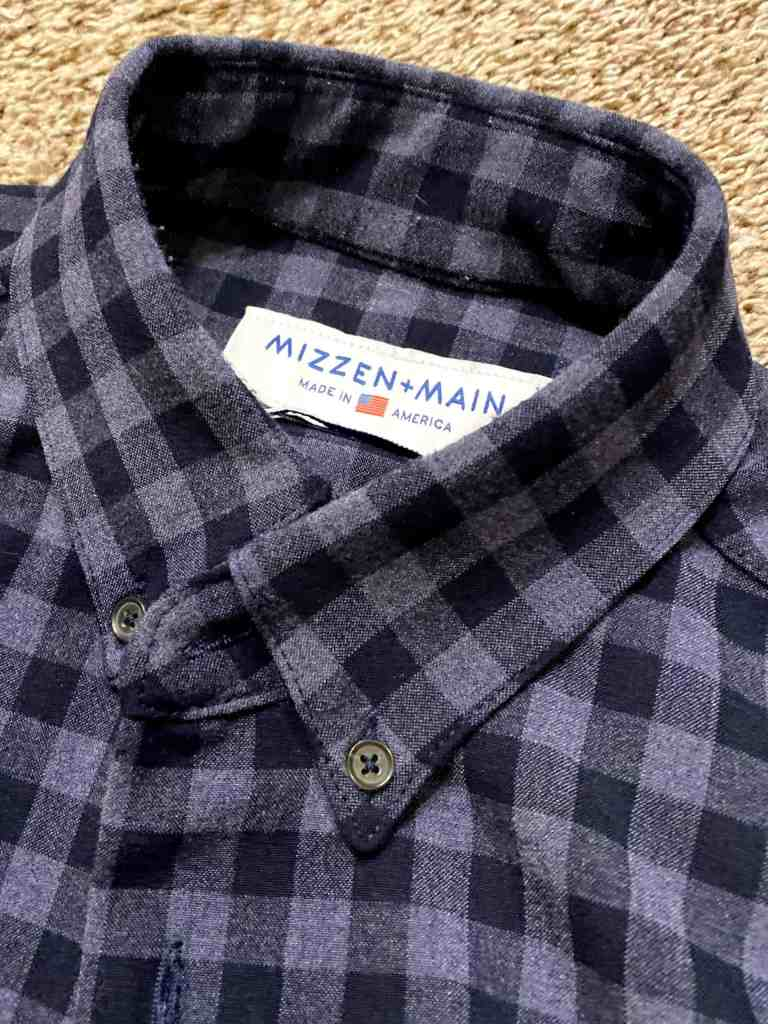 Mizzen + Main Flannel review 10