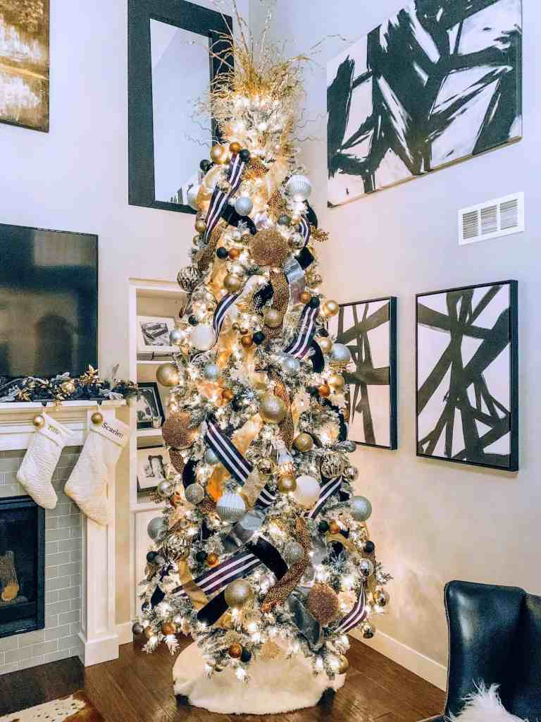 How to decorate a Christmas Tree with ribbon in 11 easy steps christmas-tree-with-ribbon-scaled