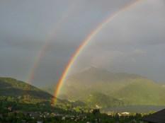 Regenbogen über St.Gilgen.Bild ORF Sbg