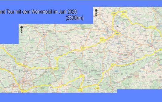 Ostdeutschland Tour Juni 2020