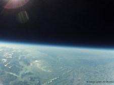30027.6 m ü. M., -43.23°C: Das Schweizer Mittelland