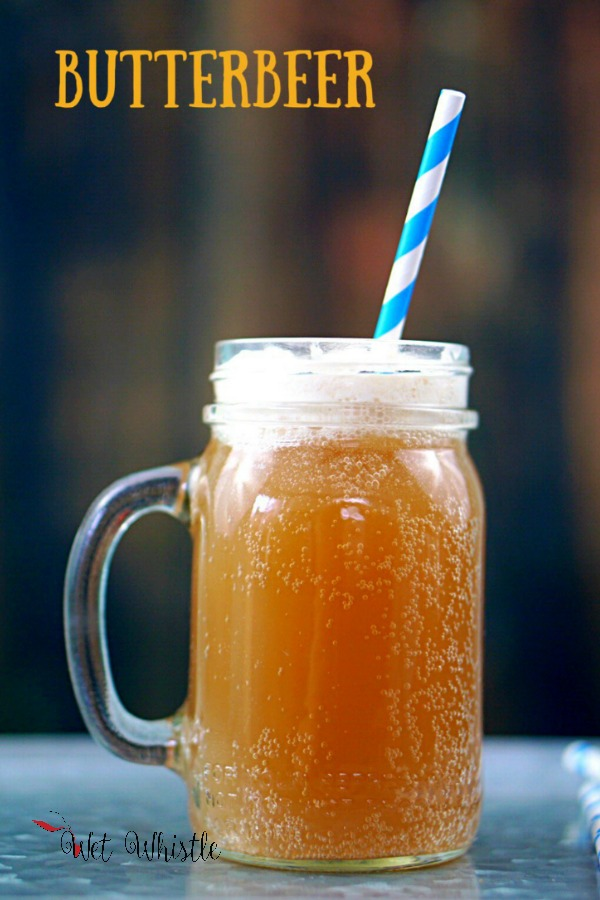 Most people who visit Hogsmeade at Universal and has butterbeer wants to know how to make it at home. You can make one for the kids and one for the adults! ~by Wet Whistle Drinks by Darla Bentley