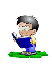 reading kindergarten boys clip books funny preschool classroom clipart learning children am