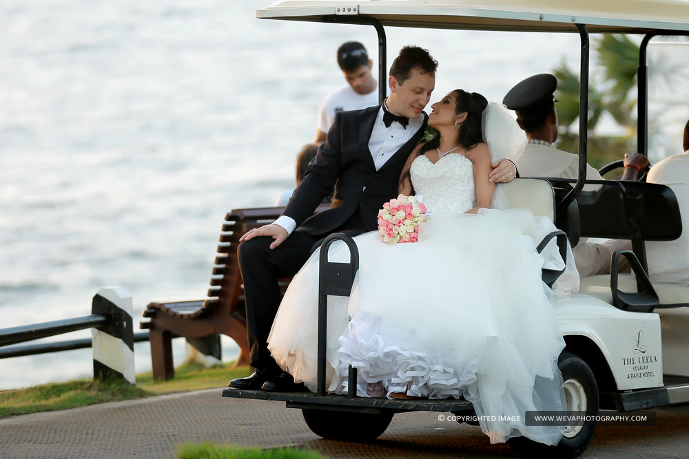 Destination Wedding At Leela Resort Kovalam