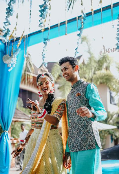 Mehendi Day Destination wedding